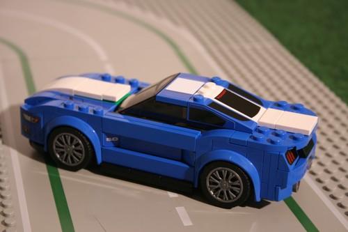 Ausprobiert Ford Mustang Von Lego Aufkleber Verdammt Nah Am