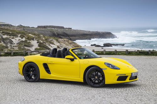 Zum Artikel Präsentation Porsche 718 Boxster: 718 Lächeln im Gesicht