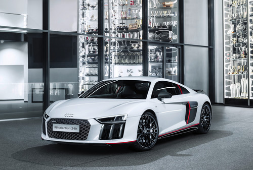 "Audi R8 Coupé V10 plus ""selection 24h""."
