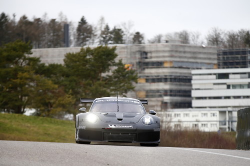 Rollout des Porsche-911-RSR-Nachfolgers in Weissach.