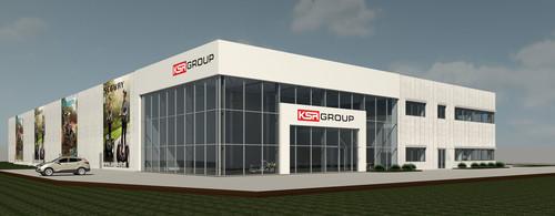 Geplante neue Firmenzentrale der KSR Group.