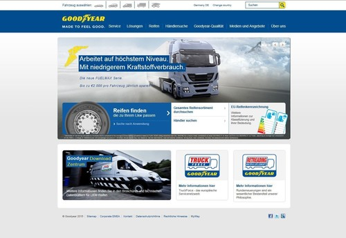 Website www.truck.goodyear.eu.