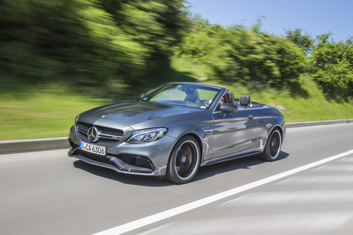 Mercedes-AMG C 63 S Cabriolet.