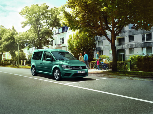 Volkswagen Caddy Edition TGI.