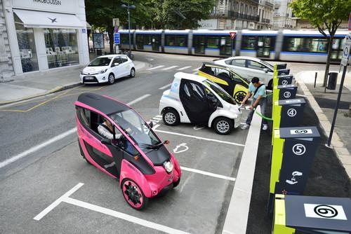 Carsharing-Projekt von Toyota.