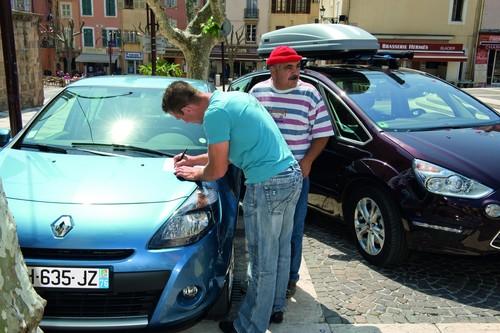 Verkehrsunfall im Ausland.