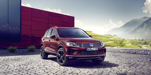 Volkswagen Touareg Executive Edition.