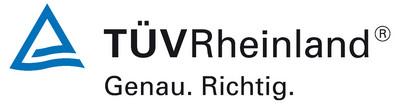 Logo TÜV Rheinland.
