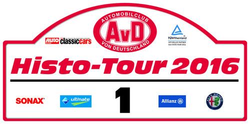 Rallyeschild-AvD-Histo-Tour 2016.