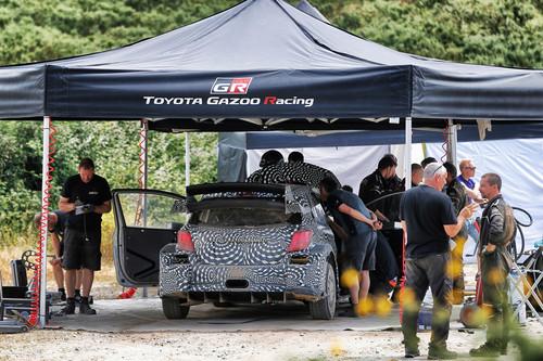 Rallye-Comback von Toyota: Testfahrten in Finnland.
