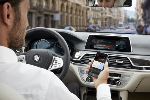 BMW Connected: Sent to Car.
