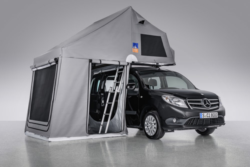 caravan salon 2016 campen mit mercedes benz auto medienportal net. Black Bedroom Furniture Sets. Home Design Ideas