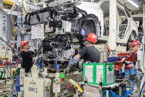 RAV4-Produktion im Toyota-Werk St. Petersburg.
