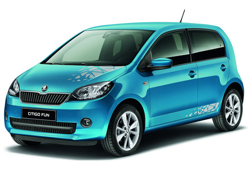 Skoda Citigo Fun.