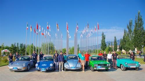 Starterteam Volkswagen Gruppe: von links: Porsche, Volkswagen, Audi und Skoda.