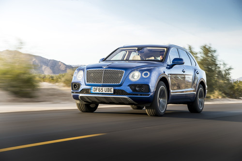 Bentley Bentayga.