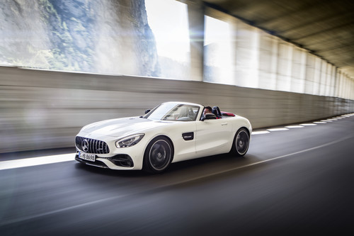 Mercedes-Benz AMG GT C Roadster.