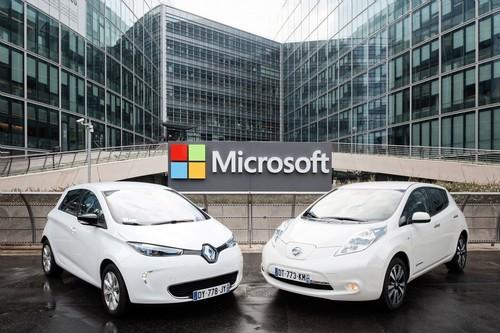 Die Renault-Nissan-Allianz kooperiert beim vernetzten Auto mit Microsoft.