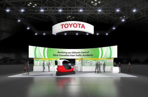 Toyota zeigt auf dem ITS World Congress in Melbourne unter anderem vernetzte Sicherheitssysteme für einen unfallfreien Straßenverkehr