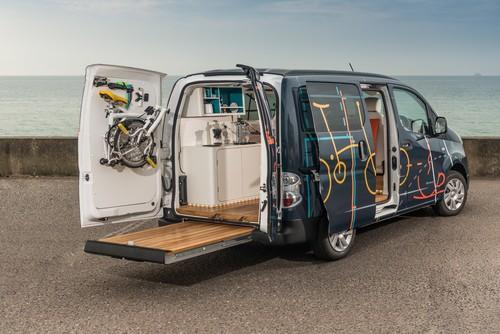 Nissan e-NV200 Workspace.