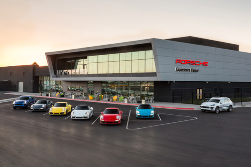 Porsche Experience Center in Los Angeles.