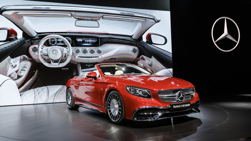 Los Angeles Auto Show 2016: Mercedes-Maybach S 650 Cabriolet.