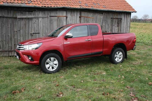 Toyota Hilux Extra Cab.