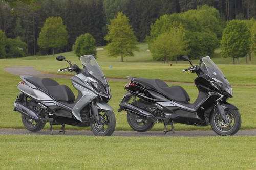 Kymco New Downtown 125i und 350i.