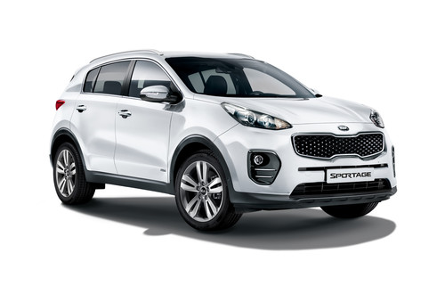 Kia Sportage Dream-Team Edition.