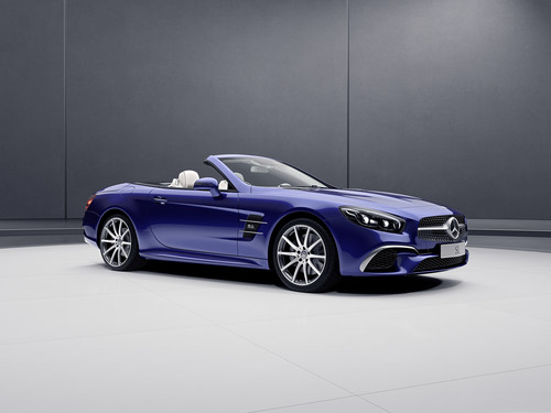 Mercedes-Benz SL Designo Edition.