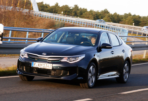 Kia Optima Plug-in Hybrid.