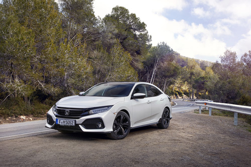 Honda Civic Sport Plus.
