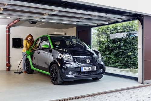 Smart Forfour Electric Drive.
