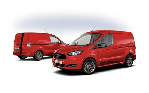Ford Transit Courier Sport.