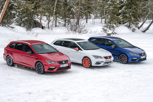 seat leon cupra im lappland drift 300 pferde on the. Black Bedroom Furniture Sets. Home Design Ideas