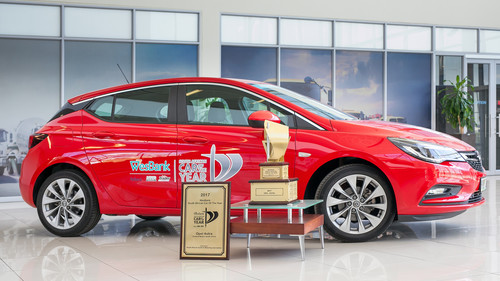 """Car of the Year 2017"" in Südafrika: Opel Astra."