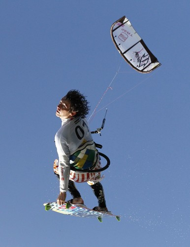 Kite-Surfer.