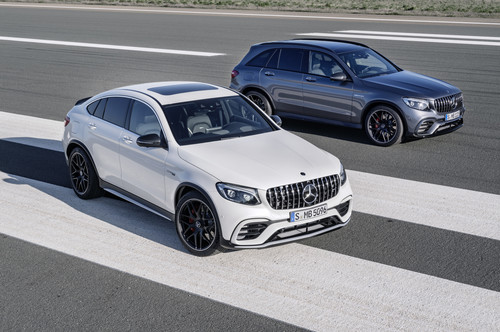 Mercedes-AMG GLC 63 (S) 4Matic Coupé.
