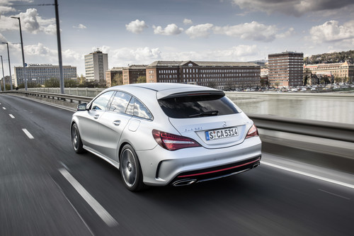 Mercedes-Benz CLA Shooting Brake.