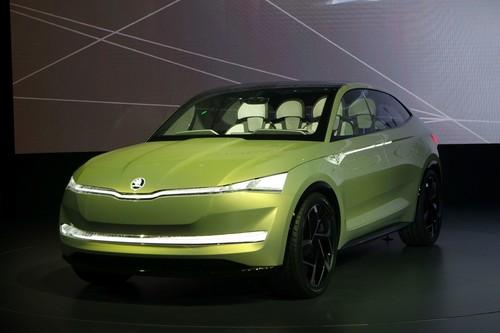 Vision E: Skoda zeigt Elektroauto der Zukunft
