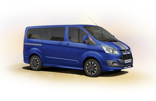 Ford Tourneo Custom Sport.