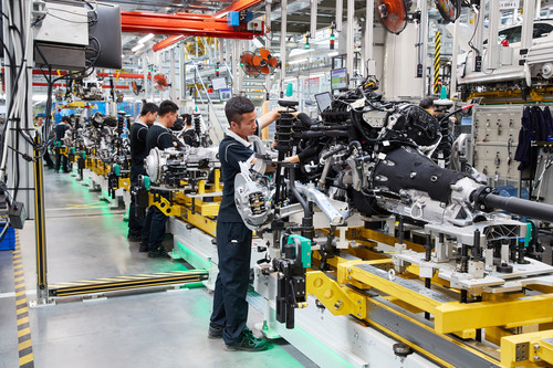 BMW baut Werk in China aus