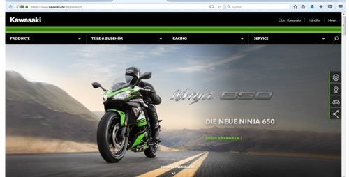 Kawasaki-Website.