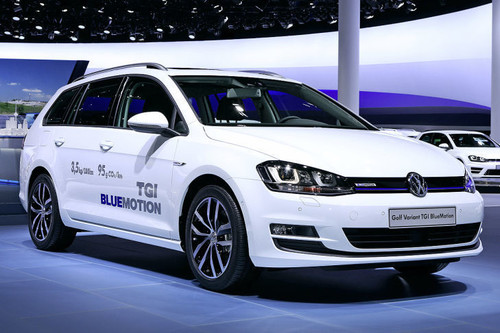 CNG Mobility Day 2017: VW Golf Variant TGI Blue Motion.