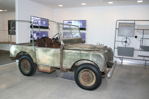 Jaguar Land Rover Classic Works: Land Rover Serie I.