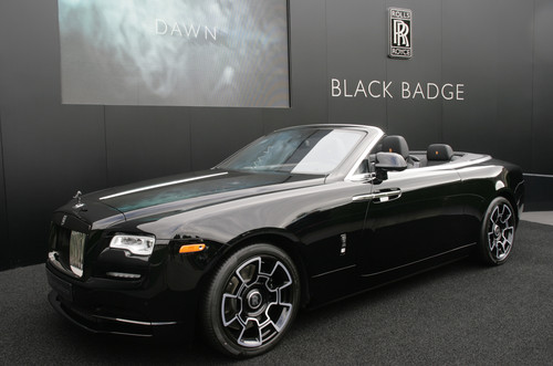 Rolls Royce Dawn Black Badge.