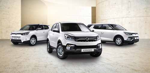 Ssangyong Clever!-Sondermodelle.