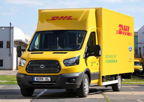 Zum Artikel Ford und die Post wollen 2500 Elektro-Transporter bauen