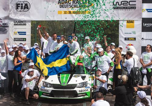 Zum Artikel Skoda ist vorzeitig WRC-2-Weltmeister