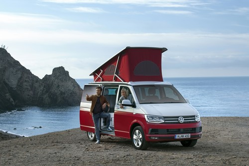 Volkswagen California Ocean Red.